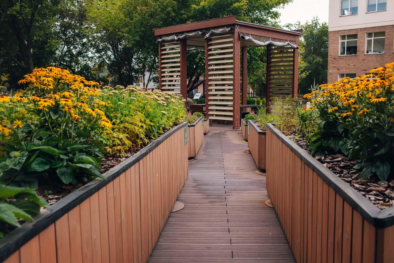 Тактильный сад «Цветок»